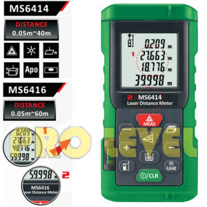 Professional 60m Laser Distance Meter (MS6416) pictures & photos