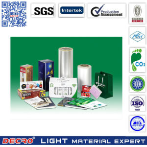 Decro High Quality Glossy & Matte Thermal Laminating BOPP Film