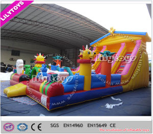 2015 Newest Plato PVC Inflatable Jumping Castle for Kids (Lilytoys-New-038) pictures & photos