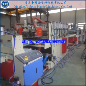 PVC Advertising Foam Board Production Line (SJSZ 80/156) pictures & photos