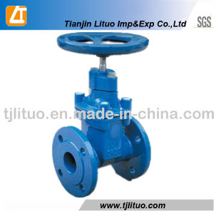 DIN Standard Non Rising Stem Gate Valve pictures & photos