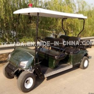Chinese 4 Seat Electric Food Cart with Cargo Truck (JD-GE502C) pictures & photos