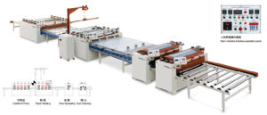 16m Paper (PVC) Sticking Production Line