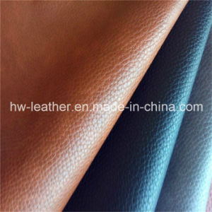 High Quality Embossed PU Leather for Sofa pictures & photos