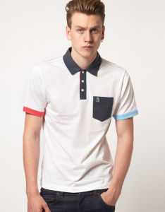 Fashion Nice Cotton/Polyester Golf Polo Shirt (P053) pictures & photos