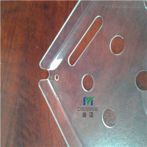 Bayer Resin 100% Virgin Polycarbonate Sheet for Drilling CNC Machining
