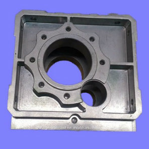 Aluminum Alloy Die Casting of Communication Appliance Base pictures & photos