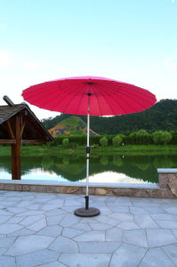 24 Ribs Shanghai Alu Garden Large Patio Outdoor Umbrella