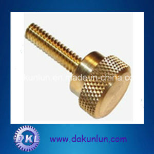 Custom Furniture Special Brass Knurl Head Thumb Screws and Fasteners Manufacturer