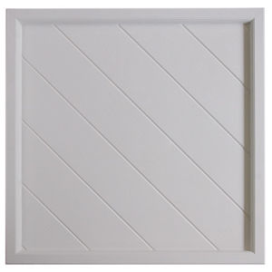 White Waterproof SMC Ceiling Panel