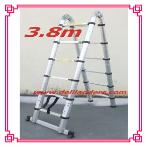 3 Position Magic Telescopic Ladder (3.8m) pictures & photos