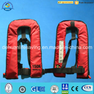 Inflatable Life Jacket With Customer Logo (DH-040) pictures & photos
