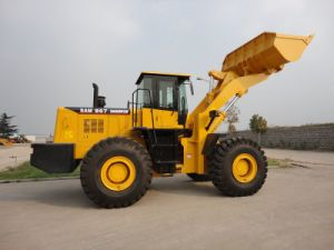 Construction Machinery 6 Ton Wheel Loader 3m3 Loader pictures & photos