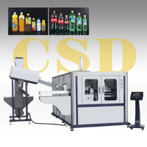 CE Approved with Pet Two-Stage Automatic Blow Molding Machine (CSD-AB2-2L) pictures & photos