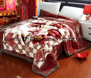 High Quality Mink Blanket Sr-B170214-9 Printed Mink Blanket Solid Mink Blanket pictures & photos