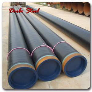 API 5L X52 Steel Pipe Line pictures & photos