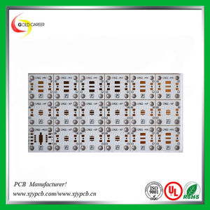 Double-Sided High Power LED Lamp Aluminum PCB pictures & photos