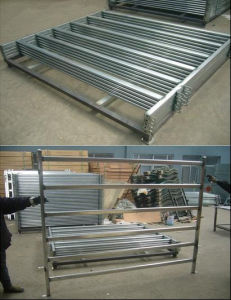 Wholesale Australia Ovail Rail 80X40mm Heavy Duty Cattel Corral Panels pictures & photos