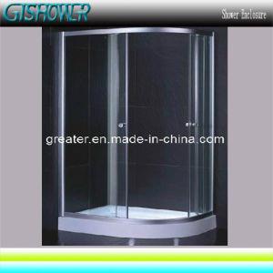 Offset Quadrant Glass Shower Enclosure (KF105L) pictures & photos