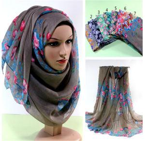 Latest Fashion Muslim Long Hijab Islamic Scarf pictures & photos