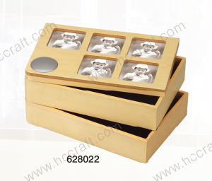 Jewelry Box and Wooden Box with Photo for Home Deco pictures & photos