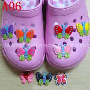 High Qualitysoft PVC Shoe Clips pictures & photos