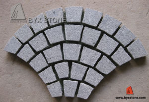 G654 Flamed Fan Shape Granite Cobblestone for Paving pictures & photos