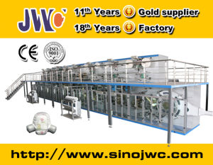 Full Servo Baby Diaper Production Line Manufacturer Jwc-Nk550-Sv pictures & photos
