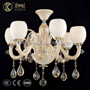 Modern Glass Acrylic Chandelier Lamp (AQ20044-6) pictures & photos