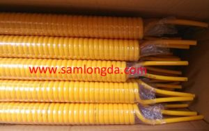 Yellow PU Coil Tube with Good Bending Tails by SGS Certificate pictures & photos
