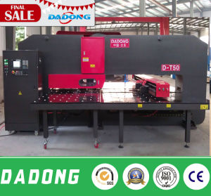 CNC Turret Punching Machine for Battery Iron/Shelves/Sliencer pictures & photos