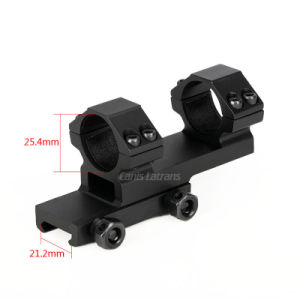 Tactical Airosft Double Ring Scope Mount with Rail pictures & photos