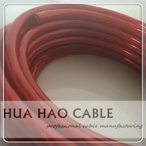 Transparent PVC Jacket Car Power Cable pictures & photos