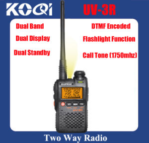 Dual Band Radio Baofeng UV-3r Mini Pocket Walkie Talkie pictures & photos