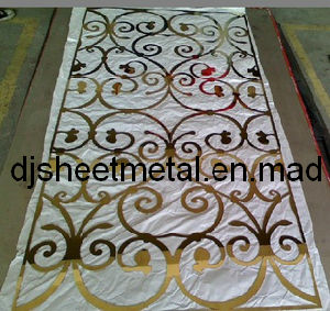 Laser Cutting Parts for Hotel Decorative Wall pictures & photos