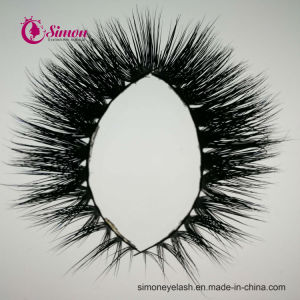 Premium Quality False Lashes Natural Black Terrier Full Strip Simon Eyelashes pictures & photos