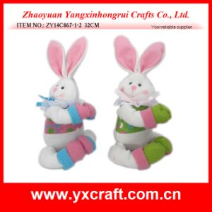 Easter Decoration (ZY14C867-1-2) New Design Easter Huggable Bunny pictures & photos