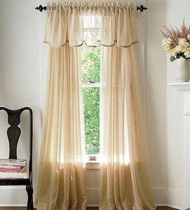 Plain Vertical Blind Curtain Fabric (C2015002)