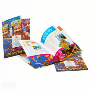 High Quality Video Brochures, A5 All Sizes Pamphlet Printing pictures & photos