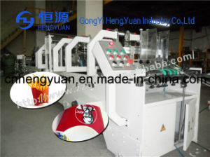 High Efficiency Corrugated Box Folding Gluing Machine pictures & photos