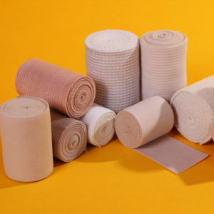 Disposable Medical Crepe Elastic Bandage pictures & photos