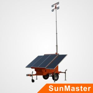 Mobile Solar Light Tower pictures & photos
