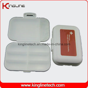Plastic 8-Cases Pill Box (KL-9122) pictures & photos
