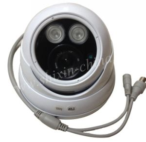 1/3 Coms 1200tvl Lines IR-Cut Array LED Light Metal Housing Analog CCTV Camera, pictures & photos
