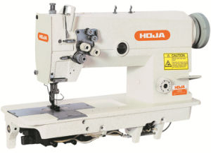 Hi-3/5 Speed Double Needle Lockstitch Sewing Machine Hj842-3/5