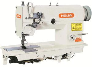 Hi-3/5 Speed Double Needle Lockstitch Sewing Machine Hj842-3/5
