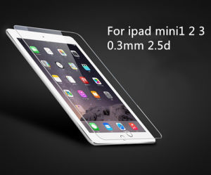 Tempered Glass 9h 2.5D 0.3mm for iPad Mini1/2/3 Film Clear pictures & photos