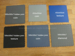 DIY PVC Garage Tiles / Jigsaw Mat / Interlocking PVC Tiles / Puzzle Lock Tiles pictures & photos
