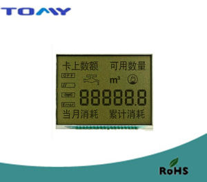 Tn Reflective LCD Display for Water Meter pictures & photos