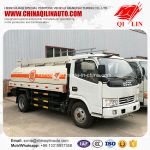 Second Hand 5000L Oil Tank Truck with Cheap Price pictures & photos